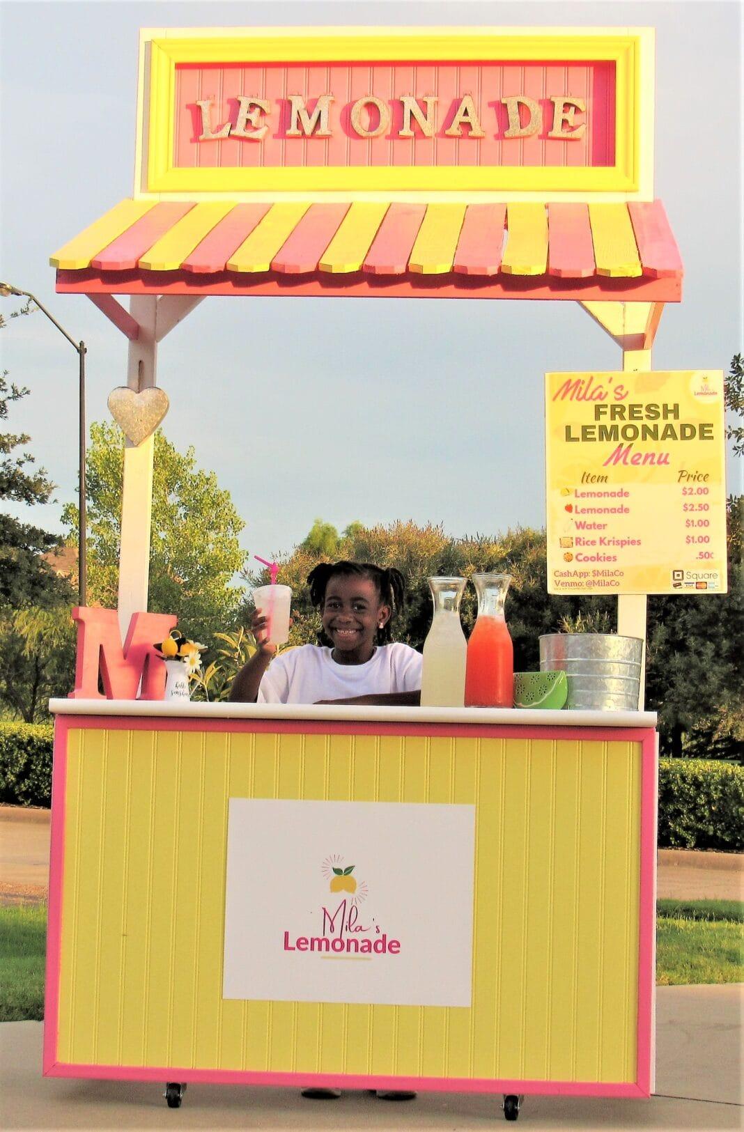 Mila's Lemonade Stand