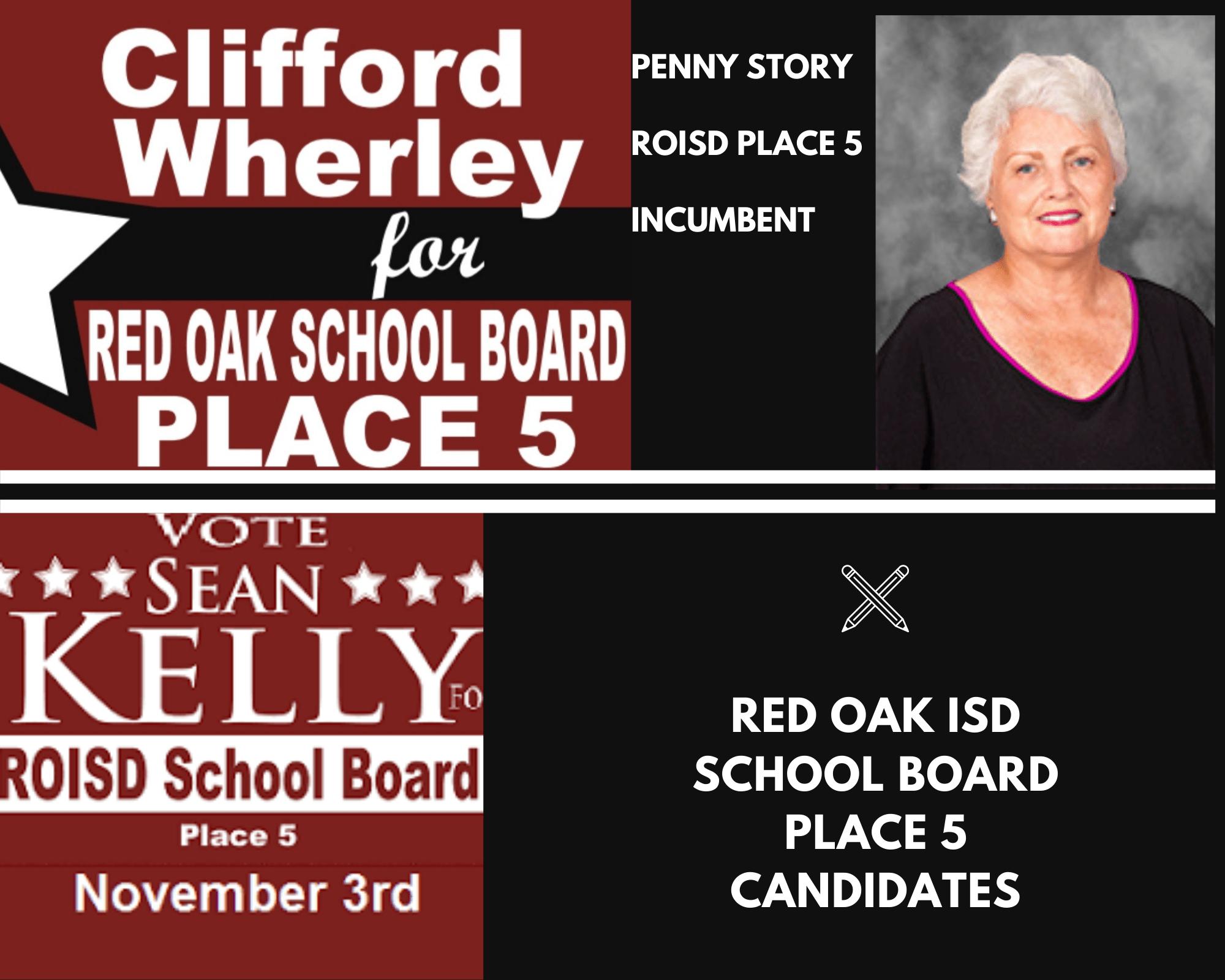 ROISD Place 5 Candidates
