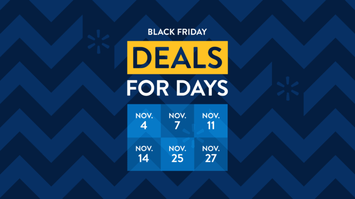 Black Friday deals for days poster