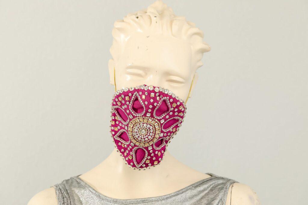 Mask meets Fashion exhibit at Galleria Dallas