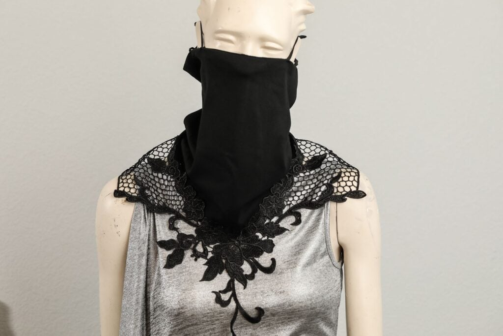Fashion Meets Mask exhibit at Galleria Dallas