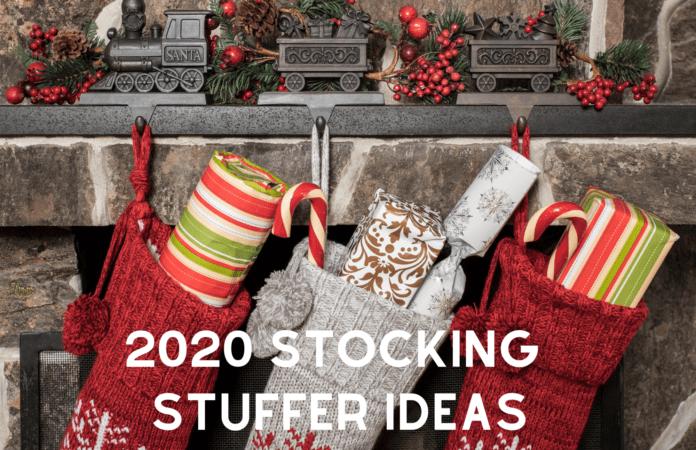 2020 stocking stuffer ideas poster