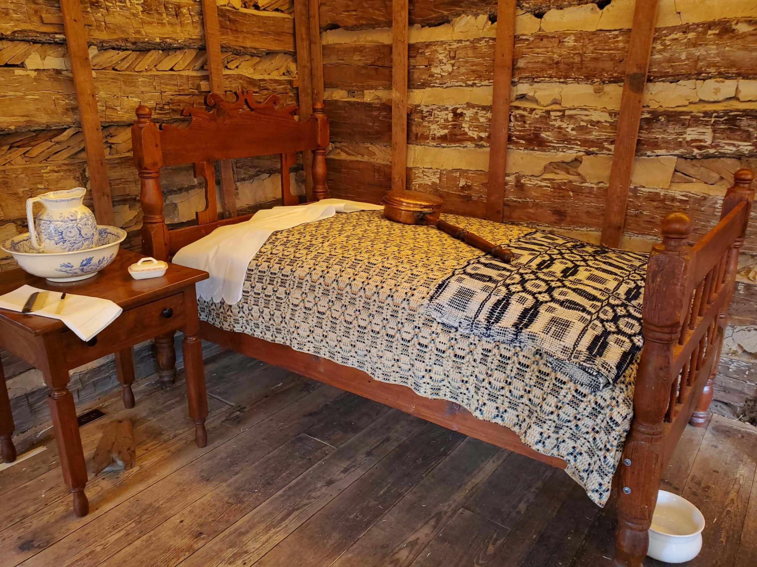 bedroom in Man house