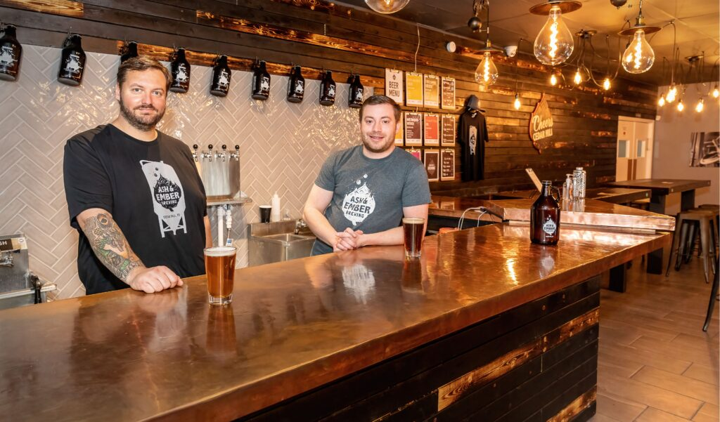 Ash & Ember Brewing Co. opens in Cedar HIll
