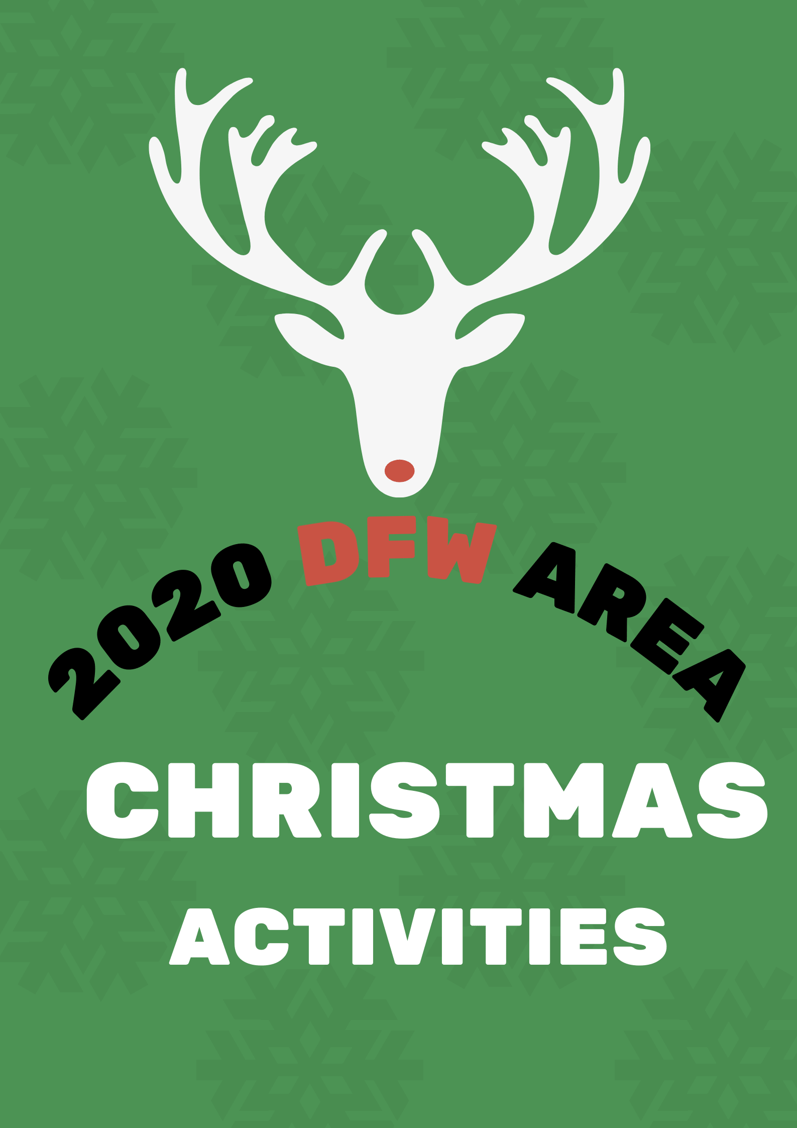 2020 Christmas Party flyer