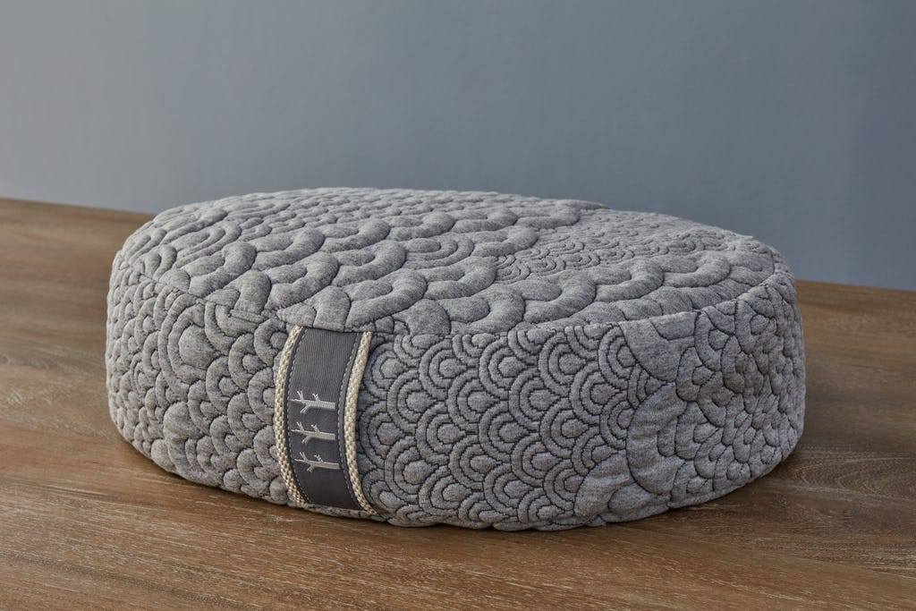 Crystal Cove Yoga pillow