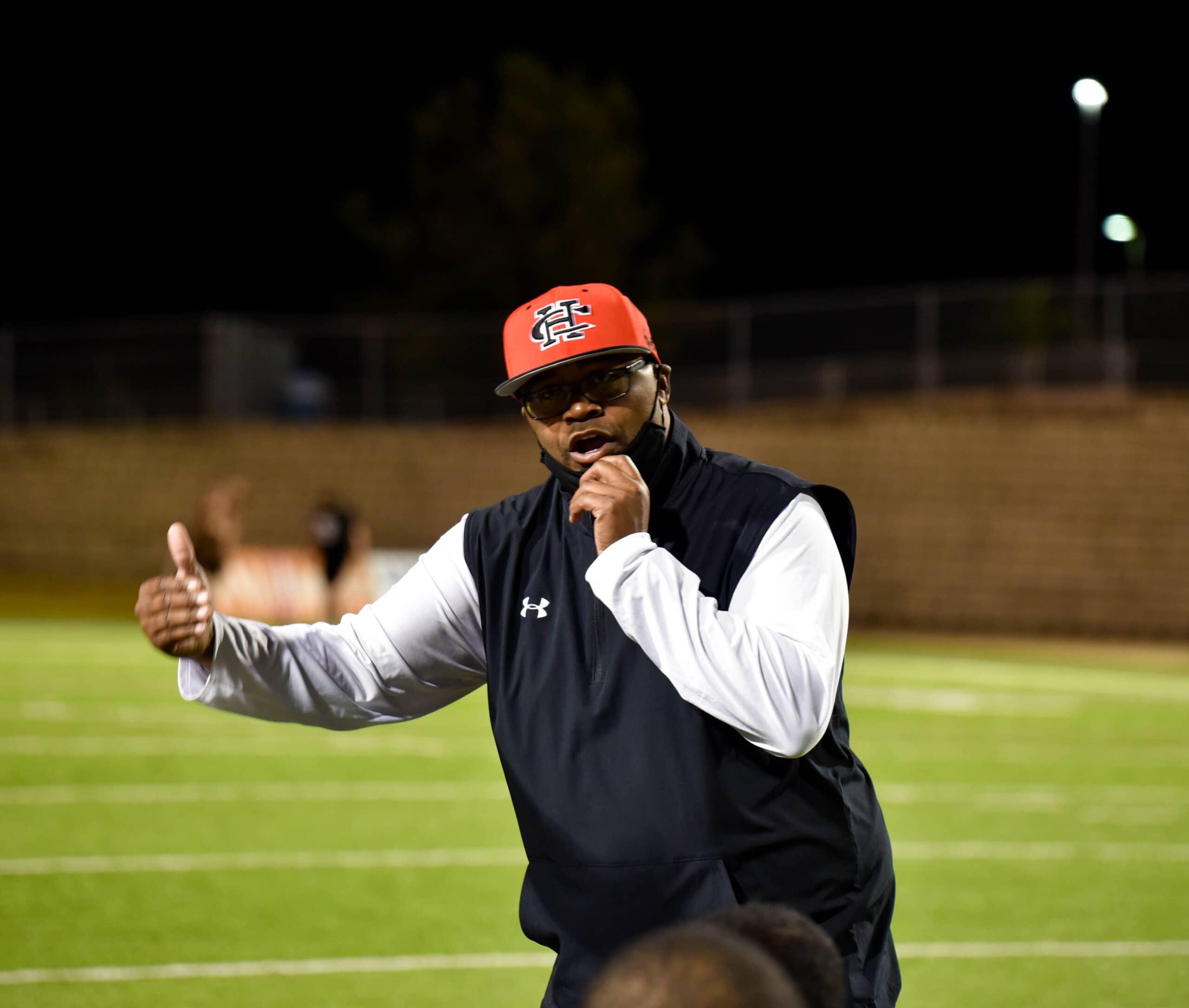 Cedar Hill Coach Carlos Lynn