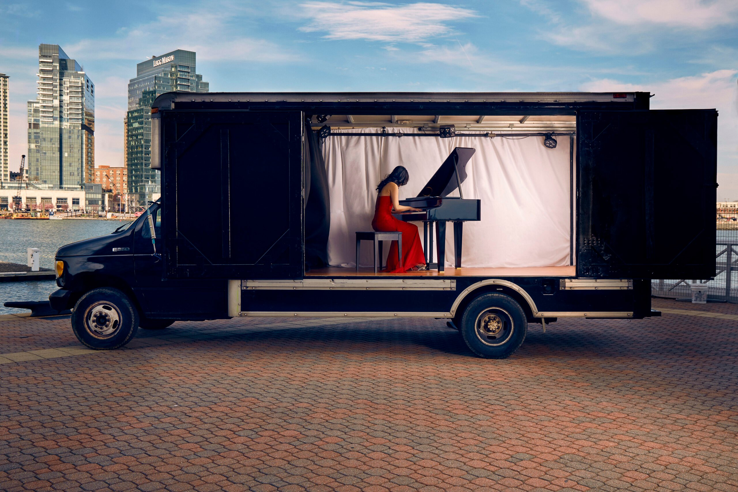 Concert Truck brings the music to us