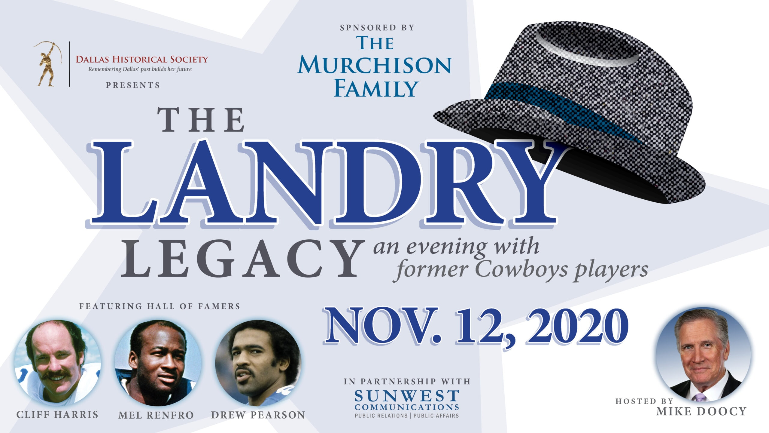 Landry Legacy presented by Dallas Historcial Society