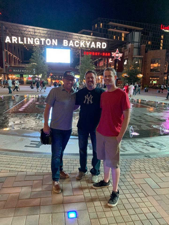guys at Arlington Backyard