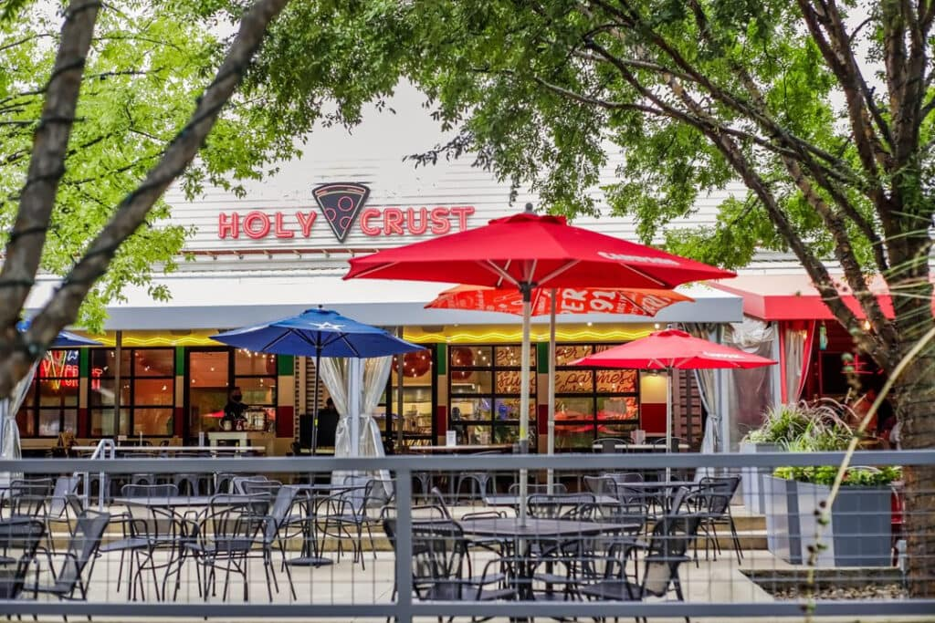 Holy Crust offers $1 pizza slices