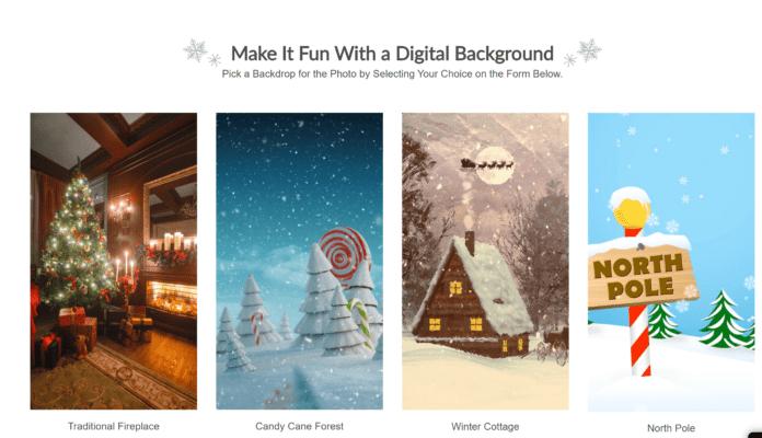 Nebraska Furniture Mart Santa Experience
