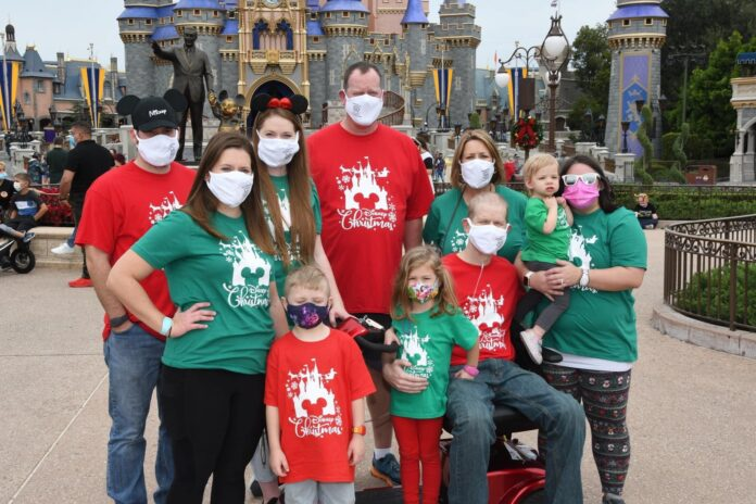 Peterson Family at Disney