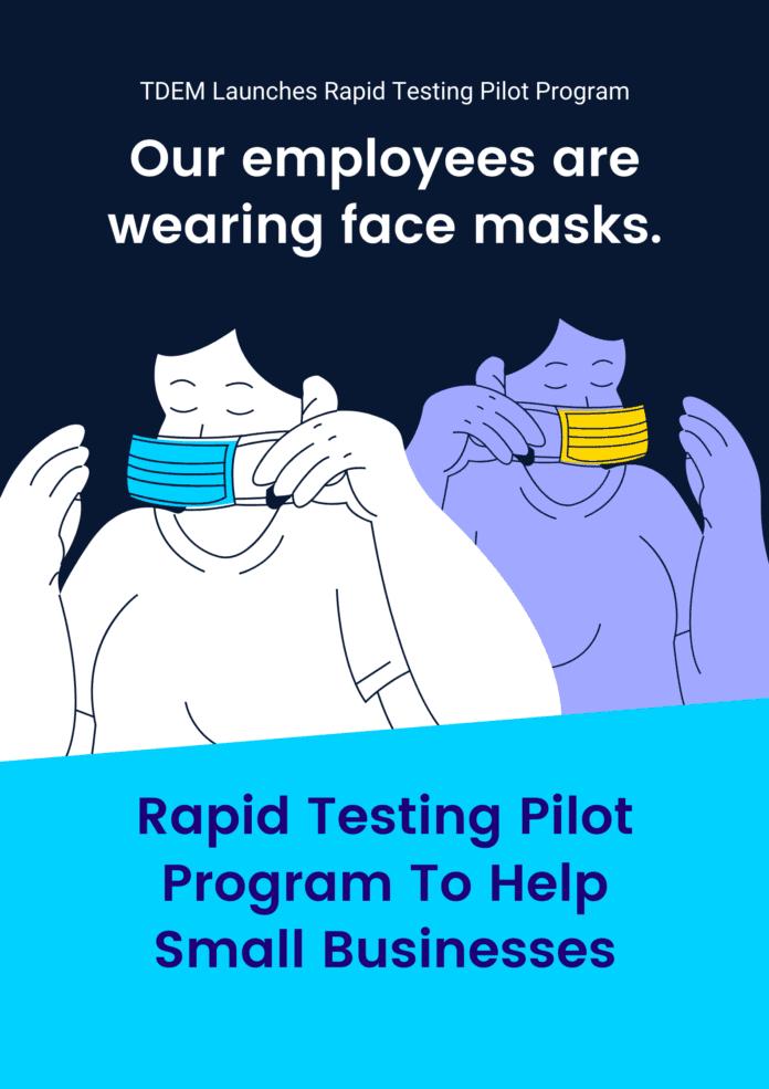 Rapid Testing Pilot Pr flyerogram