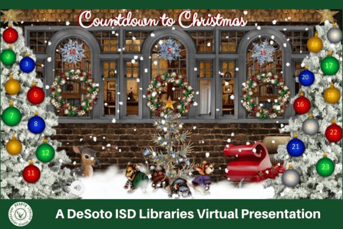Countdown to Christmas poster