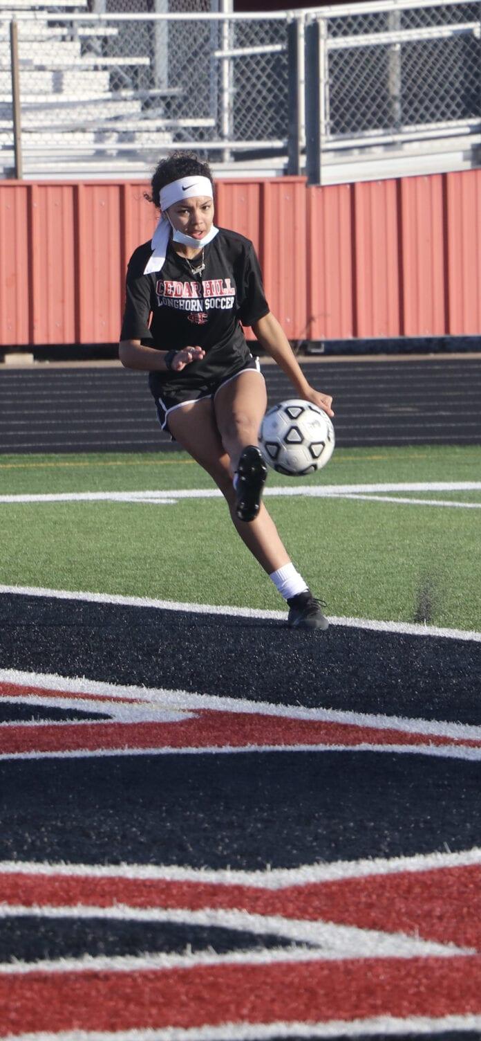 girls soccer player