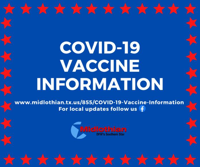 COVID 19 vaccine flyer
