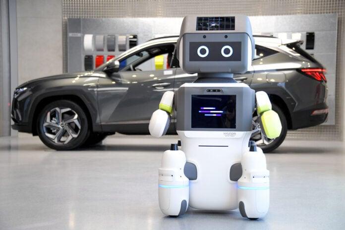 Hyundai computer robot
