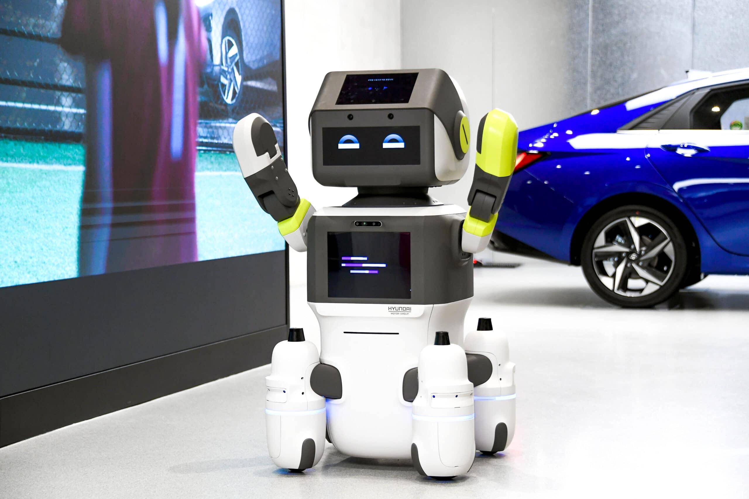 Hyundai Humanoid robot