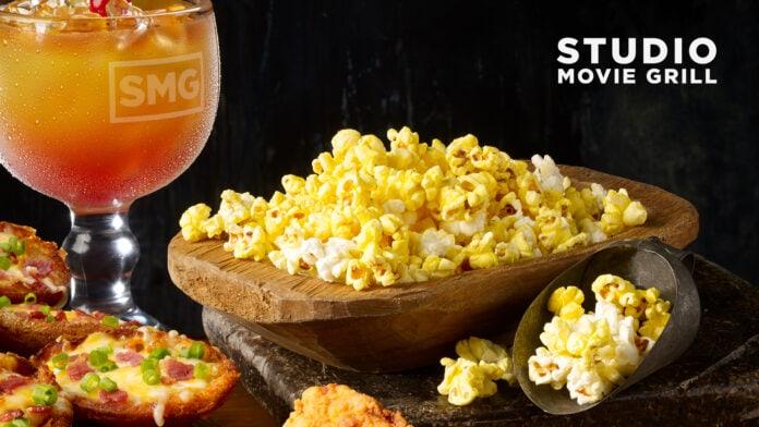 Studio Movie Grill offers free popcorn