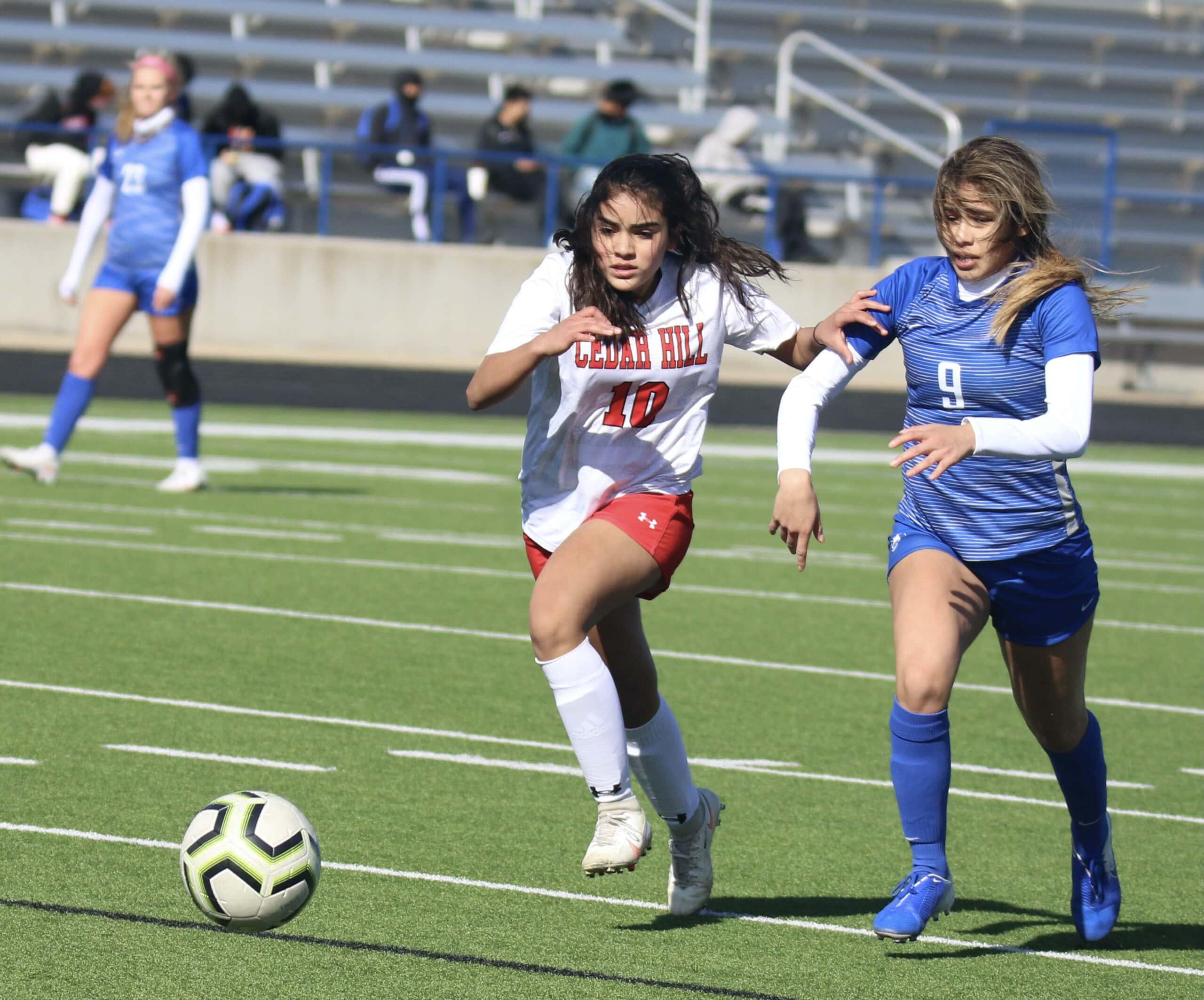 CHISD girls soccer