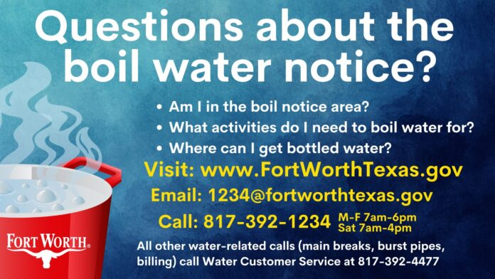 Ft Worth Boil Water