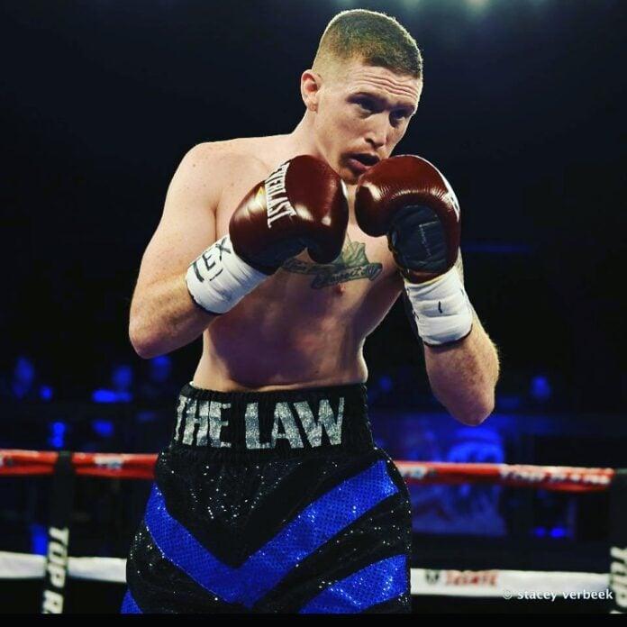 Johnny Dieterman boxing