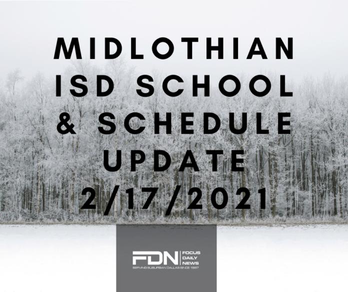 Midlothian ISD school closure