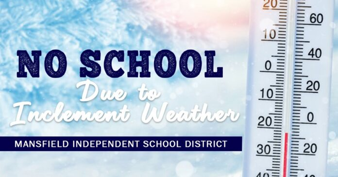 Mansfield ISD no school