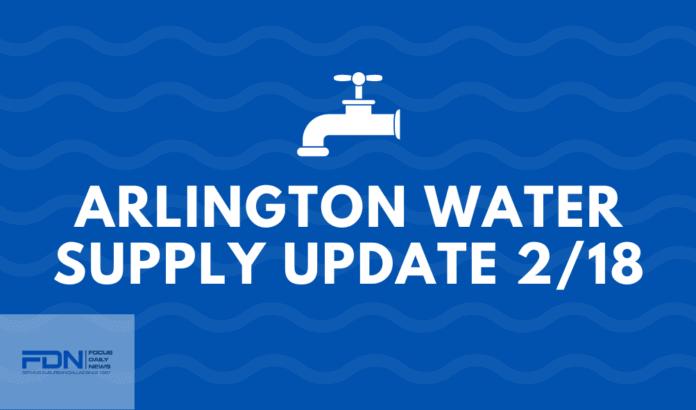 Arlington Water Update