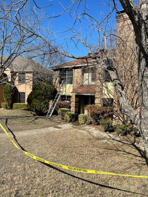 DeSoto home crime scene