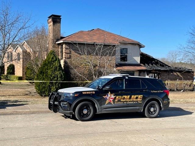 DeSoto Police SUV