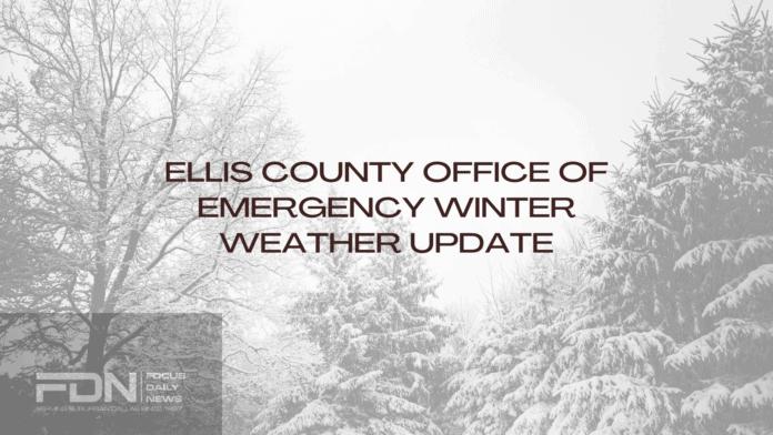Ellis County Emergency Update