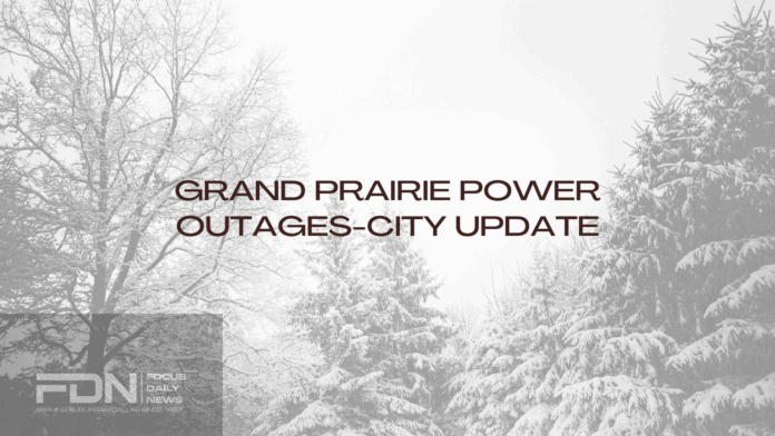 Grand Prairie Power Outages
