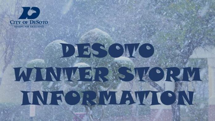 DeSoto Winter Information