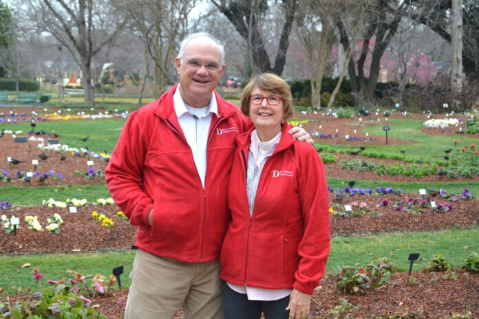 Dallas Blooms 2021 Co-Chairs for America the Beautiful