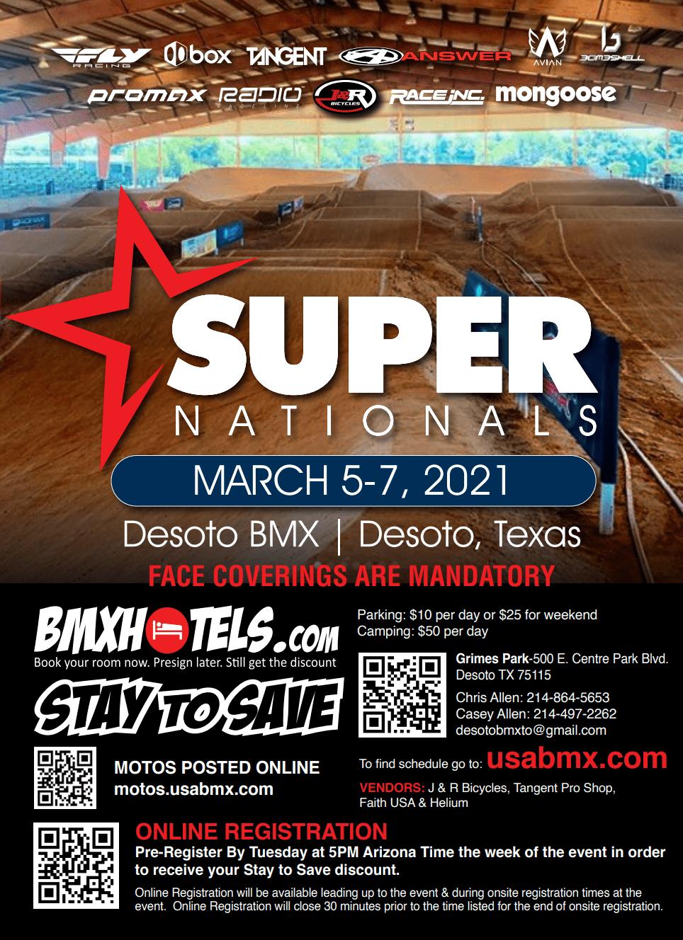 Desoto BMX Super National flyer
