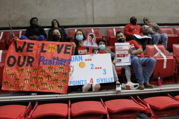 Duncanville basketball fans