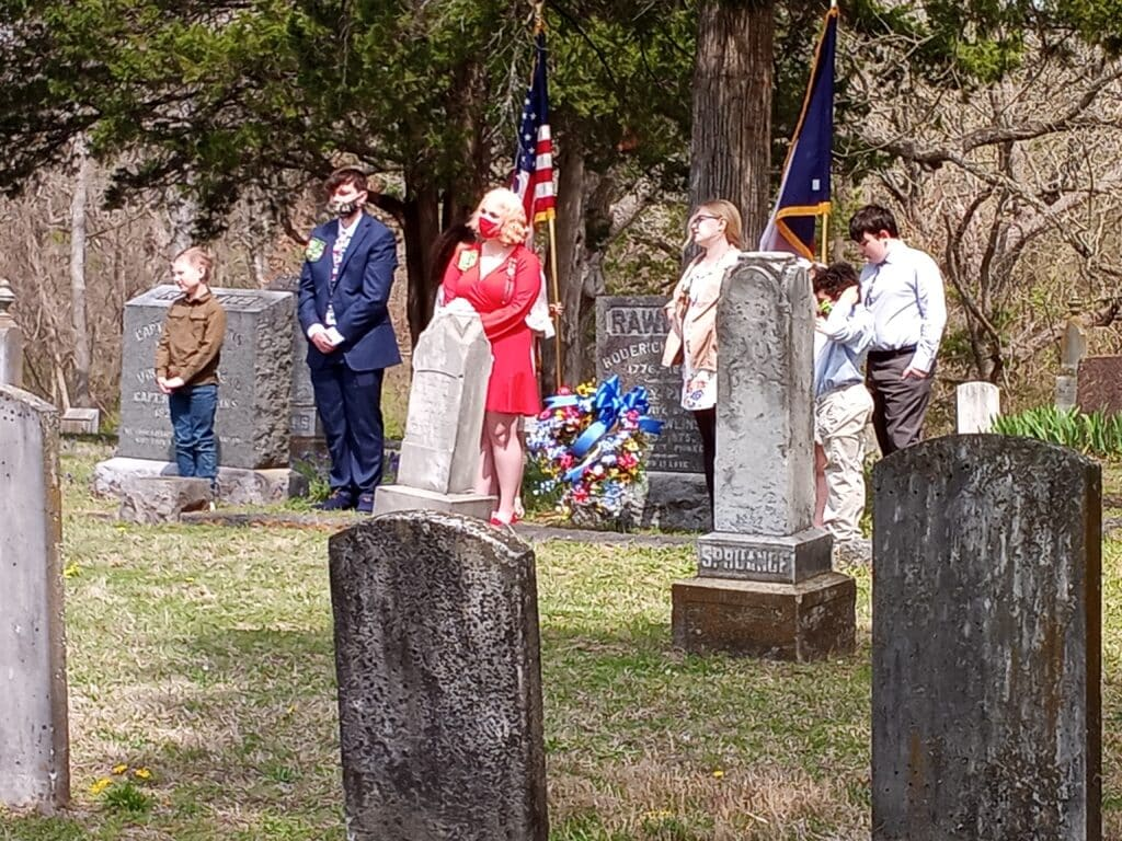 Roderick Rawlins, first settler of Lancaster, honored