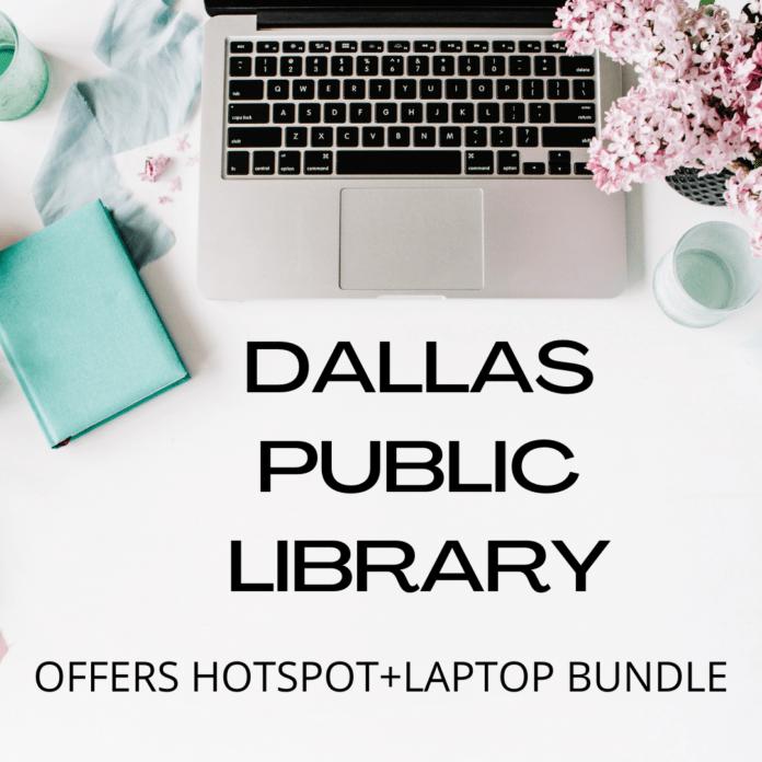 Dallas Public Library flyer