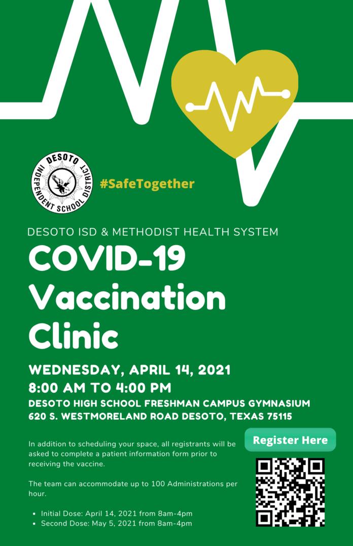 COVID vaccination clini
