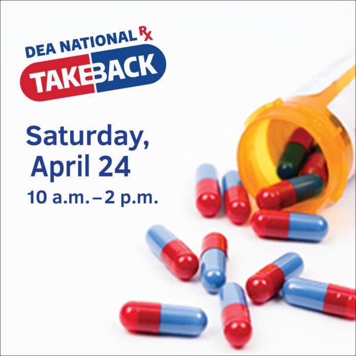 DEA Take Back poster