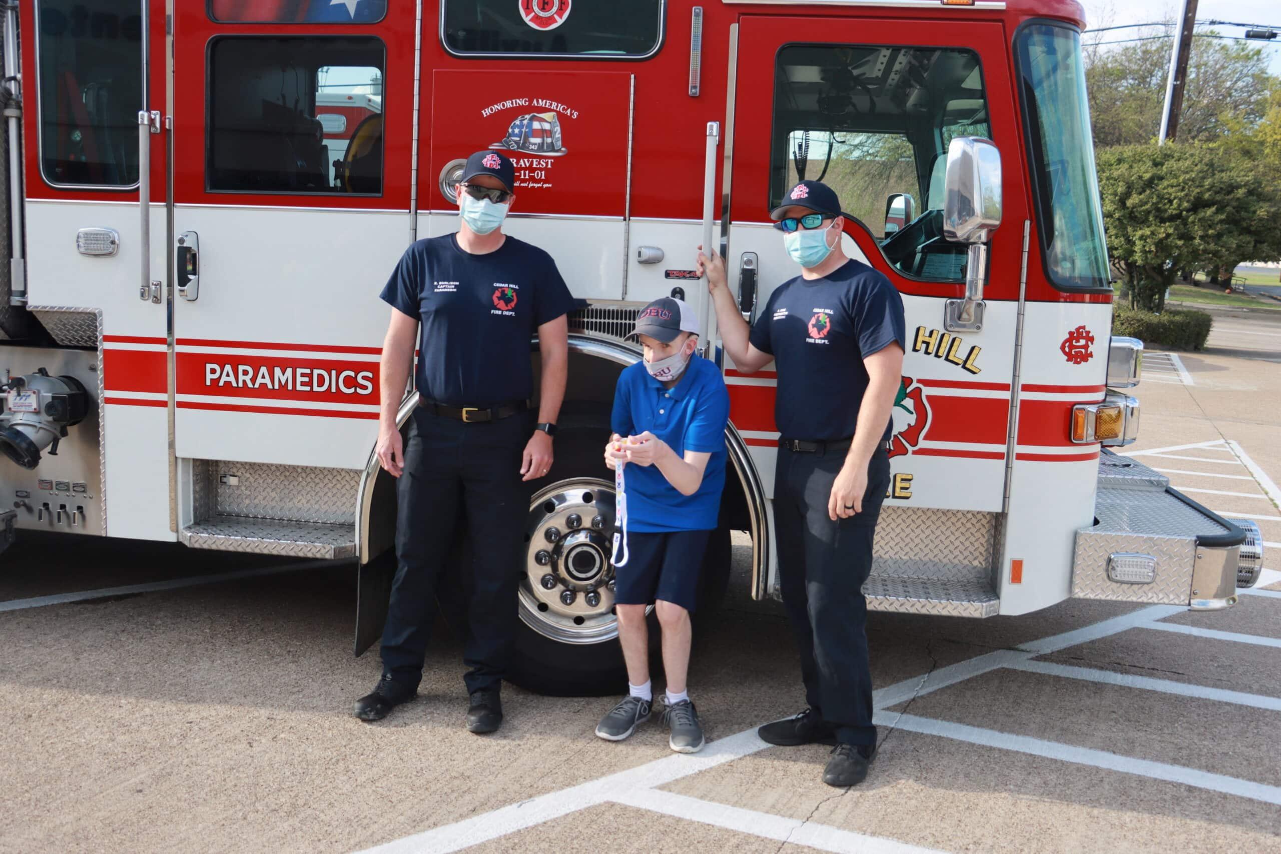 Cedar Hill firefighters