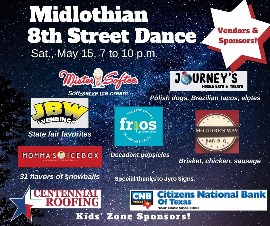 Midlothian Street Dance poster