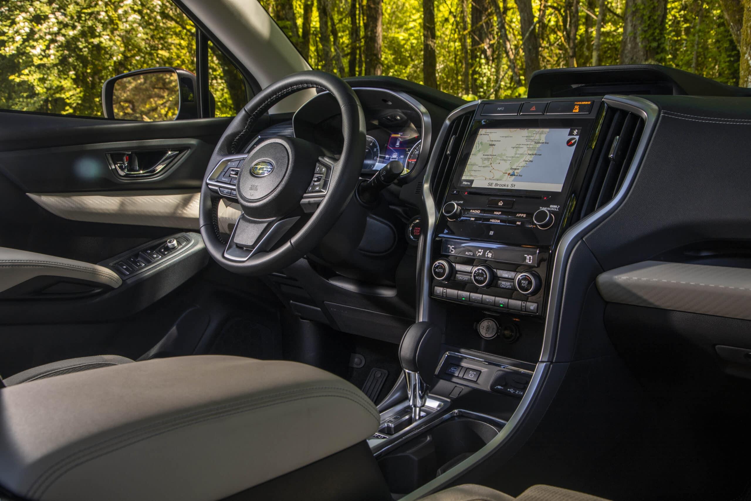 2021 Subaru Ascent limited interior