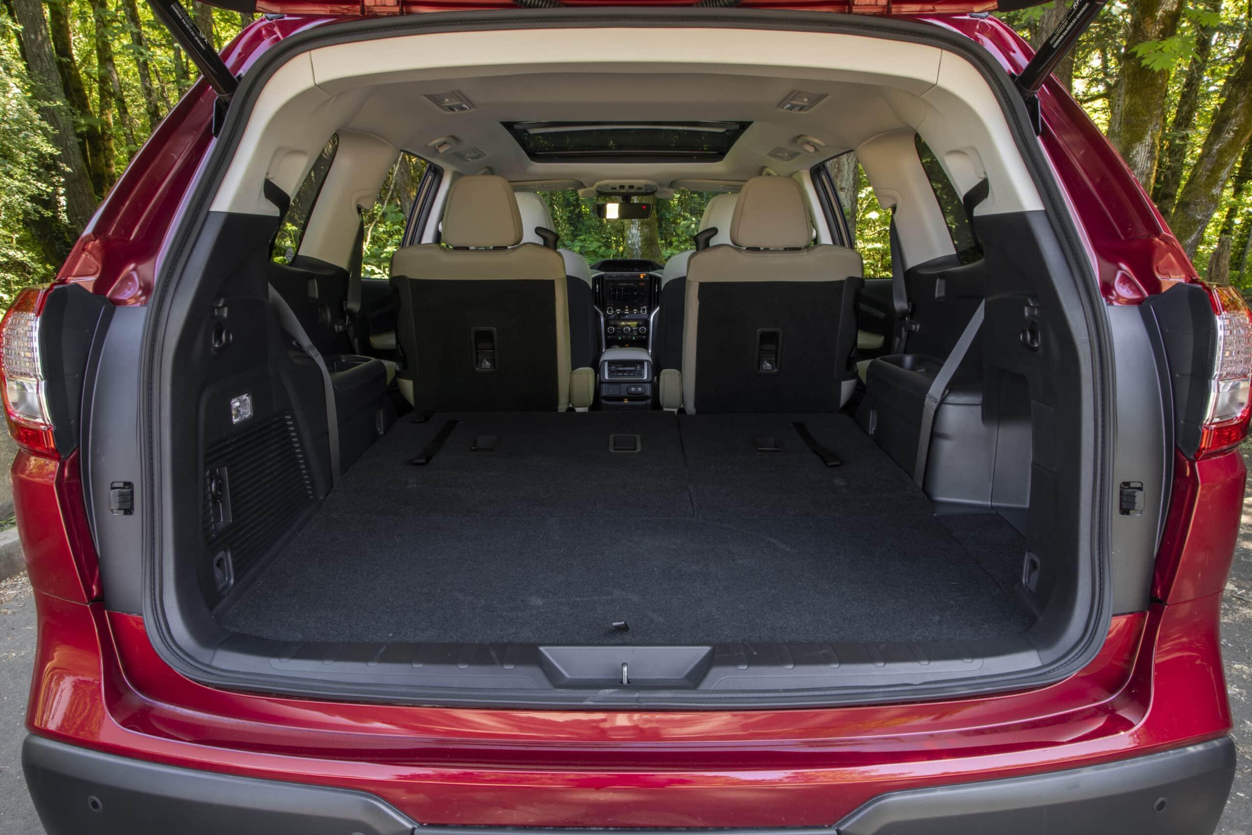 Subaru Ascent cargo area