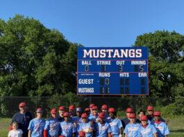 Life school Waxahachie baseball team