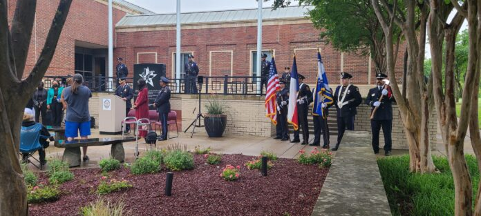 DeSoto Police Memorial service