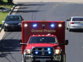 Grand Prairie ambulance
