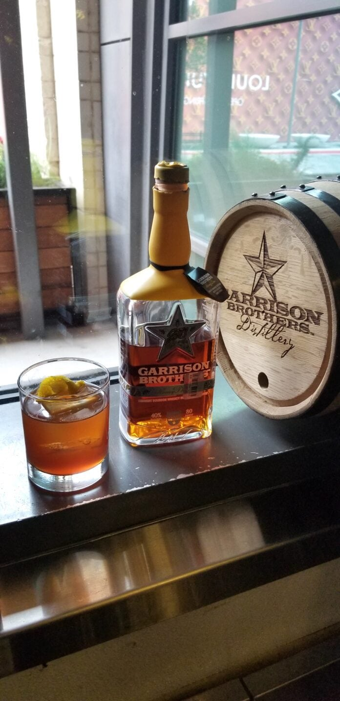 Garrison brothers cocktail